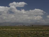 Farmland up near the pass
