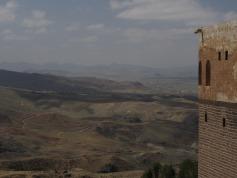 Ishak Pasha Sarayi - looking west(ish)
