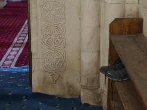 Ishak Pasha Sarayi - Shoes correctly stored