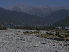 Azerbaijan river bed