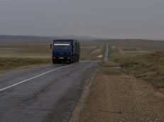 Aqtau to Shetpe, the long desert road