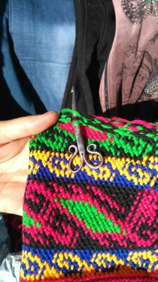 Pamir crochet. As seen at Koroug, and hardly anywhere else