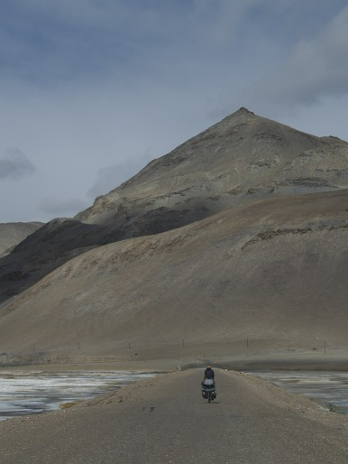 Japanese solo cycle tourist, we met twice, see Crossed Paths page.