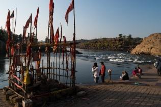 Narmada river at Bheraghat