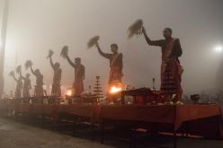 Varanasi at dawn