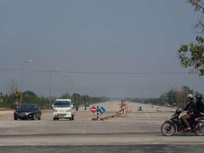 It's not all narrow highways. Here's an ASEAN SuperHighway.