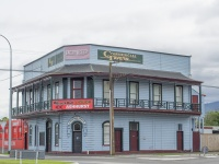 Most small towns still have a corner hotel