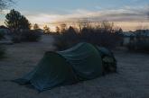 Campsite in Marathon